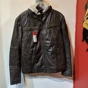 THREADS of APOLLO Cafe Racer plus Leather JACKET | 26134