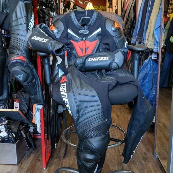 DAINESE LAGUNA SECA Leather (Perforated) RACE SUIT   26369