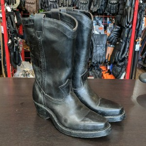 Double H (HH) Western Biker Leather BOOTS   26428