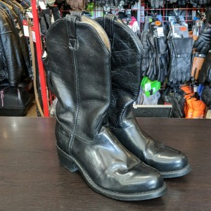 Double H (HH) Western Biker Leather BOOTS   26429