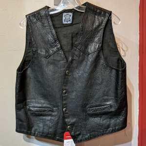 LONE Gambler Leather VEST | 26386