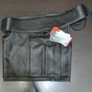 MR S LEATHER CHAP SHORTS Leather PUNK/FETISH | 26446