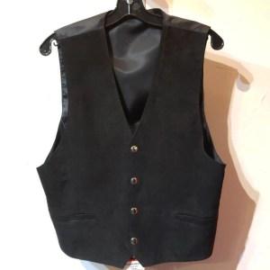 UNBRANDED Gambler Leather (Suede) VEST | 26457