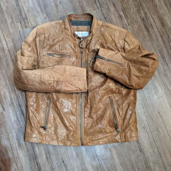 MARC NEW YORK Café Racer Leather JACKET   26691