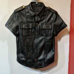 QUALITY Uniform Leather SHIRT   26571
