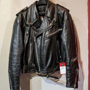 BRISTOL Biker classic Leather JACKET   26789