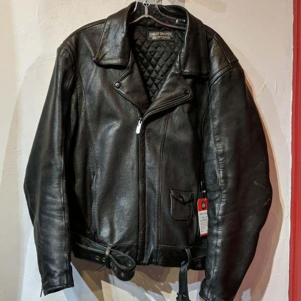 HARLEY DAVIDSON Biker Classic Leather JACKET   26890