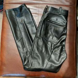 UNBRANDED 5 pocket Jean Leather PANTS | 26881