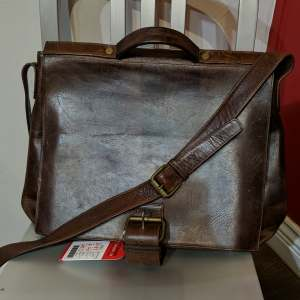VILLAGE TANNERY Messenger bag Leather BAGGAGE   26811