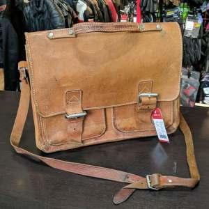 Vintage Briefcase Leather BAGGAGE   26819