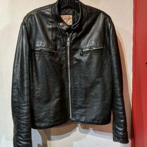 EXCELLED Café Racer Leather JACKET | 27123