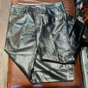 LEATHER USA 5 pocket jean Leather PANTS | 27154