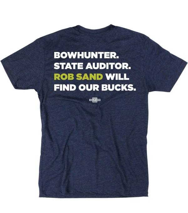Unisex Bowhunter T-shirt Back