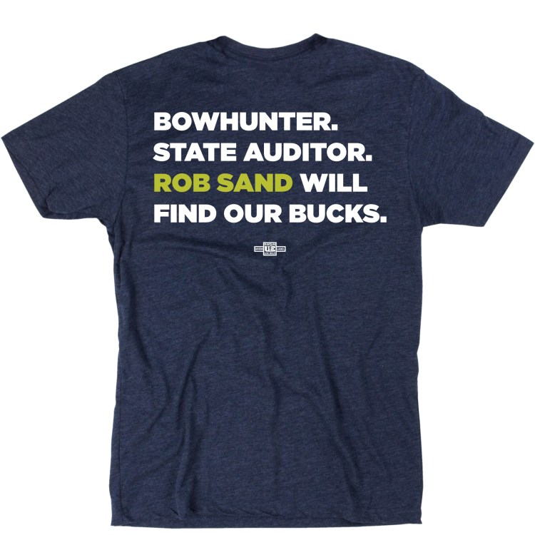 Unisex Bowhunter T-shirt Back