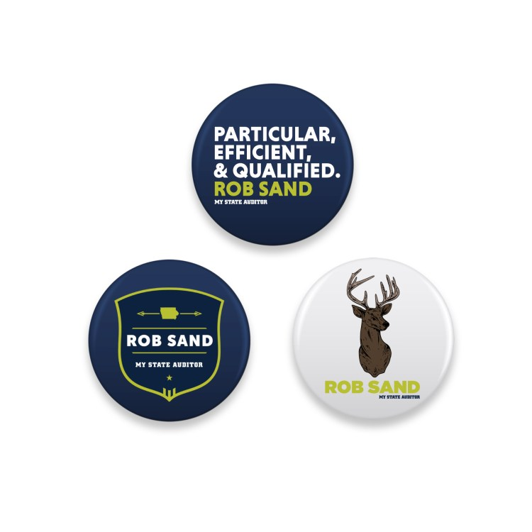Rob Sand Three Button Set