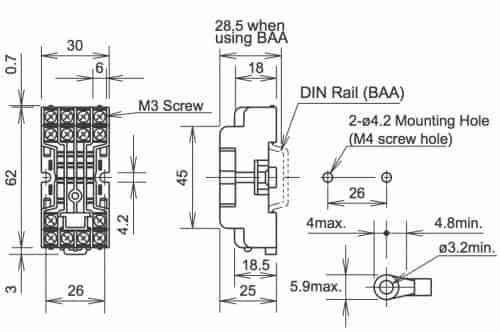 Dayton Latching Relay Wiring Diagram Wiring Diagram 11 Pin Relay Base Diagram  sc 1 st  Zielgate.com : 230v relay wiring diagram - yogabreezes.com