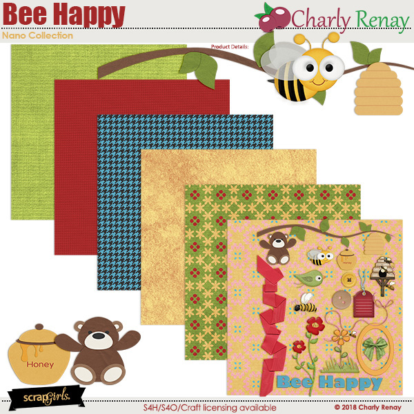 Bee Happy Nano Collection By Charly Renay