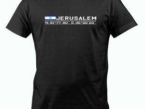 Playera Jerusalem cordenadas