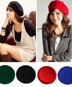 Womens Casual Beret Hats