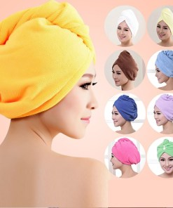 Thick micro fiber salon hair towel