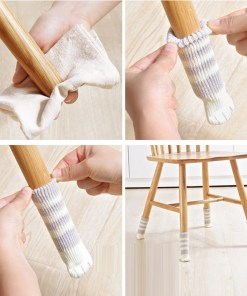 Table and Chair foot covers Paw Shaped