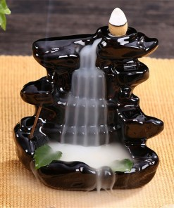 Retro backflow incense burner