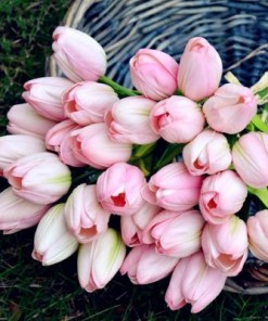 Artificial tulip flower bouquet