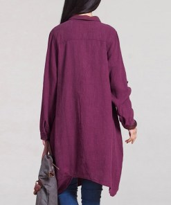 Women's casual shirt dress