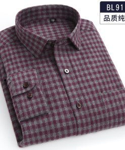 Mens Flannel Shirt Long Sleeve