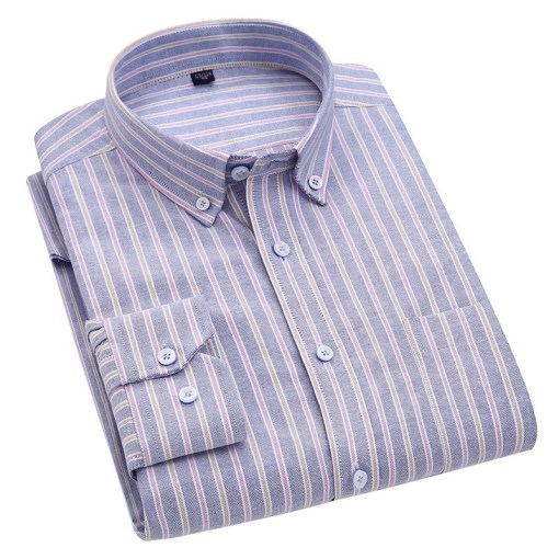Mens Business Casual Shirts Long Sleeve