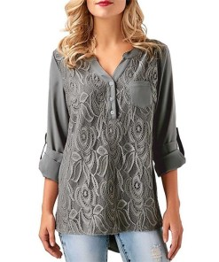Womens long sleeves Blouse Casual