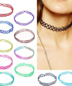 Womens Choker Colored Style
