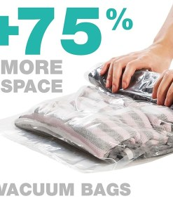 Space saving compression bag