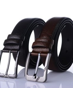 Mens faux leather belt