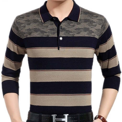 Collared long sleeve shirt
