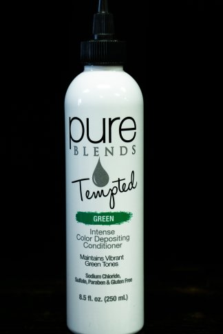 Pure Blends Tempted Intense Color Depositing Conditioner – Green | Studio Trio Hair Salon