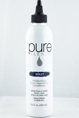 Pure Blends Hydrating Color Depositing Conditioner – Violet | Studio Trio Hair Salon