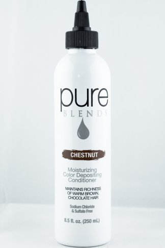 Pure Blends Hydrating Color Depositing Conditioner – Chestnut | Studio Trio Hair Salon