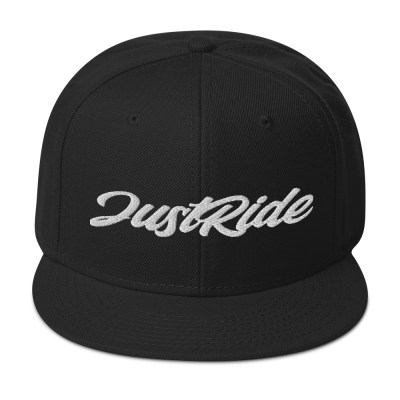 just ride snap back