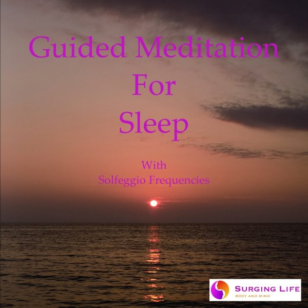 Guided meditation for sleep deep calm with Solfeggio music