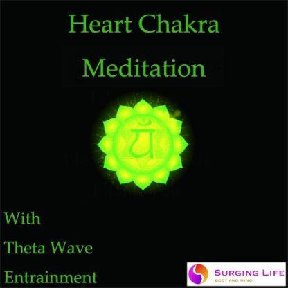 Heart Chakra Guided Meditation with Theta Wave Music