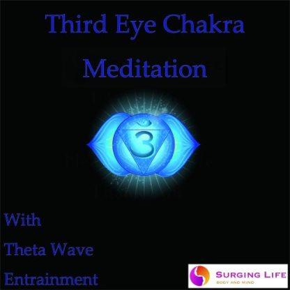 Third Eye Chakra Guided Meditation with Theta Wave Music