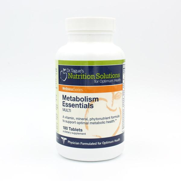 Metabolism Essentials Multi-Vitamin (180 Tablets) (30 Day ...
