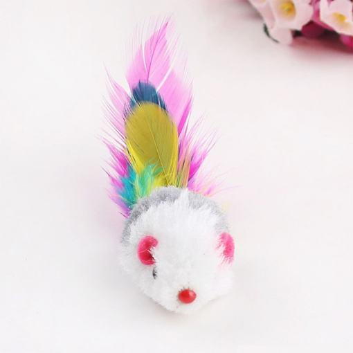 Cat Toy Soft Fleece Mouse
