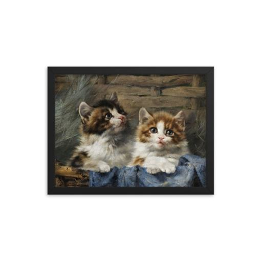 Julius Adam: Two Kittens, 1913,