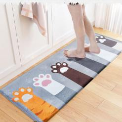 Cat Floor Mat Door Mat Anti-Slip