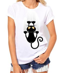 Black Cat, Halloween Variety Women's T-Shirt