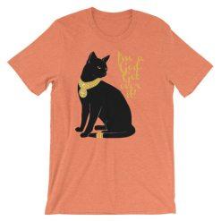 Cat-I'm a God. Get Over It, Short-Sleeve Unisex T-Shirt
