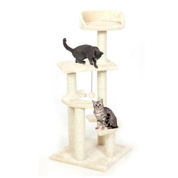CAT TREE HOUSE SCRATCHER2