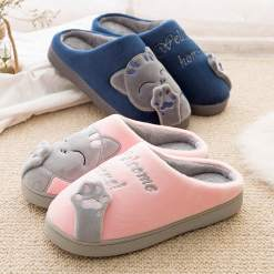 Cozy Warm Kitten Cat Slippers at The Great Cat Store